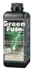 GreenFuse GROW Stimulator - A product is based on natural plant extracts that will maximise the potential of the plant to produce strong shoots and healthy leaves.